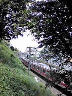 緑と風と電車と