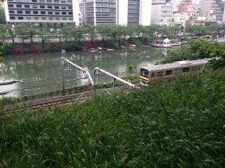 今日の景色ー飯田橋駅周辺